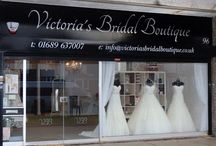 New photos of Victoria's Bridal Boutique / Some new pictures of the shop