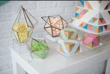 2014 // Geometric / Modern sein. Formen und Farben wagen. Einfach mal anders.