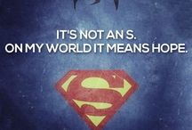 'S' is for 'HOPE' / My love belongs to superman :P