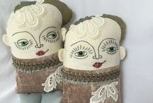 Studio Soul Dolls - work in progress / Doll making, embroidery, artdolls, OOAK, cloth doll, rag doll, fabric doll