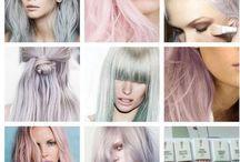 Pastel Tones / Lastest trend alert! Pastel toned hair!
