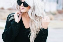 Blonde Bombshells / Warm tones, cooled tones, dimensional, every kind of blonde there is!