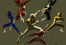 Power Rangers / Go go Power Rangers- mix pictures