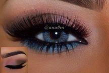 Modèle maquillage yeux