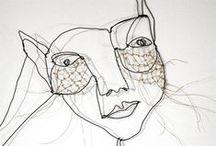 Nos inspirations : autres / Peinture, sculpture, tissage...