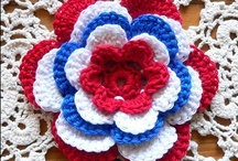 Crocheted Flowers & More / by crochet crazy