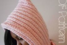 #Crochet Pixie Hat / #CROCHET PATTERN DESCRIPTION: This whimsical cutie is quick & easy and can be completed in just 3 hours. This hat makes the perfect gift for the young adult in your life or for yourself. / by GuChet