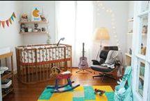 Decoración Infantil / Decoración para niños y bebés-  Habitaciones infantiles. Ideas simples pero que transmiten emociones, calidez y ganas de pasarlo bien.