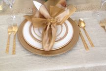Table Decor and Schemes / Formal and casual ways to brighten a table. / by Barbara Elson