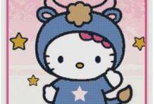 Horóscopo Kitty / En esta sección podrás encontrar los 12 signos del zodiaco protagonizados por Hello Kitty