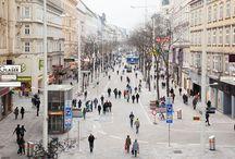 Urban | shopping street / Shopping streets #shopping #street #retail #strip #urban #design #architecture #axis #crowd #plein