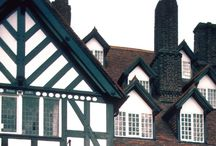 Medieval | timber houses / tudors! #Alsace #Europe #house #medieval #timber