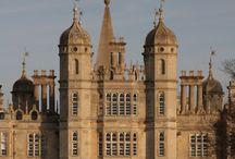 Medieval | manor palaces / Imposing English manor palaces