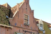Medieval | brick houses / Low countries
