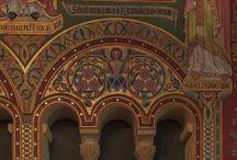 Medieval | mozaicy Romanesque / Byzantium! #Byzantine #dark #Icon #mosaic #religious #Romanesque