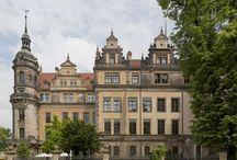 Medieval | ruddy castles / Altes Deutschland or Nederlands kasteel, German Renaissance, and also the Weser
