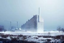 Urban | polar vortex / Arctic circle urbanism #arctic #circle #freeze #polar #subzero #urbanism #vortex