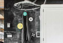 Interior | chalkboard