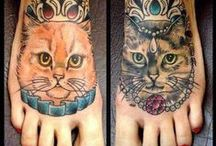 Cats Tattoos