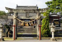 Medieval | temple shrines / Ji and Jingu