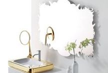 Bathroom Mirrors / A beautiful collection of mirrors to inspire interior and home designs and themes