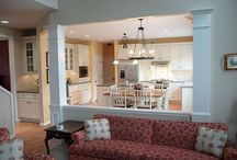 Kitchen galleys / Open up a small kitchen creatively. / by Barbara Elson