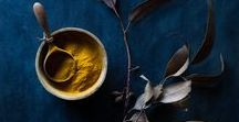 Chiaroscuro food photography by Nadine Greeff / #nadinegreeff.com #darkfoodstyling