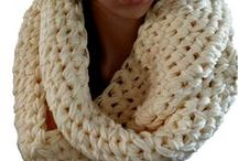 "#Crochet Chunky Charleston Infinity Scarf / #CROCHET PATTERN DESCRIPTION: This Chunky Infinity Scarf will quickly become your favorite, winter ""go to"" accessory. Quick and easy, made with Michael's, Loops & Thread yarn, you can Crochet this pattern in less than 2 hours as the bulky yarn and hook make this pattern a win-win. / by GuChet"