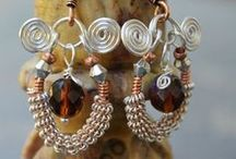 Our Jewelry - Wire and Micro macramé / A collection of our most special pieces!  Wire work jewelry and micro macramé jewelry.