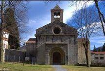 Monasterio románico Sant Pere de Camprodón. Girona / Photo Travel History Art Architecture Fotografía Viajes Historia Arte Arquitectura