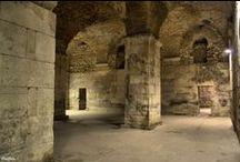 Palacio de Diocleciano, Siglos III-IV dc. Split. Croacia / Photo Travel History Art Architecture Archaeology Fotografía Viajes Historia Arte Arquitectura Arqueología