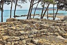 Empúries Griega y Romana. Girona. / Photo Travel History Art Architecture Archaeology Fotografía Viajes Historia Arte Arquitectura Arqueología