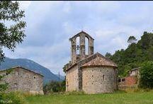 Iglesia de Santa María de Palau. Siglos XII-XIII. Sant Llorenç de la Muga. Girona / Photo Travel History Art Architecture Fotografía Viajes Historia Arte Arquitectura