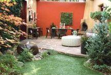 jardines y sitios verdes