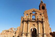 Belchite viejo. Zaragoza / Photo Travel History Art Architecture Archaeology Fotografía Viajes Historia Arte Arquitectura Arqueología