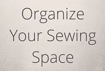 Organise your sewing space