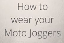 How to wear your Moto Joggers