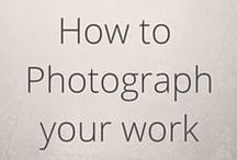 How to photograph your work