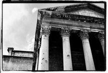 Barcelona. Vic. Templo romano. Siglo II dc. / Photo Travel History Art Architecture Fotografía Viajes Historia Arte Arquitectura