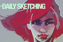 Daily Life Sketching / Drawing, sketching and painting
