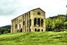 Santa María de Naranco. Prerrománica 848 ac. Oviedo. Asturias. / Photo Travel History Art Architecture Fotografía Viajes Historia Arte Arquitectura