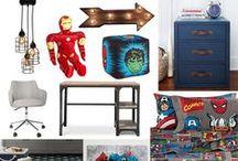 #SuperSaturday: Marvel Comics / Marvel Comic Room Ideas