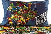 Teenage Mutant Ninja Turtles Dark Ninja Room Inspiration