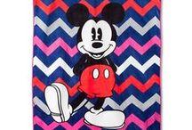 Mickey Mouse Love Chevron Room Inspiration