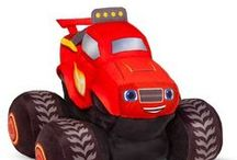 Blaze and The Monster Machines Room Inspiration