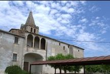Termas romanas. Siglos I-II dc. Iglesia de Sant Menna Siglo XVIII. Vilablareix. Girona / Photo Travel History Art Architecture Fotografía Viajes Historia Arte Arquitectura