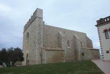 Iglesia de Sant Martí d'Empuries. Siglos X-XVI. Girona / Photo Travel History Art Architecture Fotografía Viajes Historia Arte Arquitectura