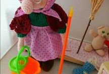 la Befana - the epiphany doll / befana amigurumi in pura lana