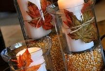 Fall decoration, crafts & ideas