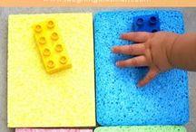 Sensorisk utvikling - Smarte leker for barn / Enkle og smarte aktiviteter og leker for barn som stimulerer følesans og abstrakt forståelse - som du lett kan få til selv!